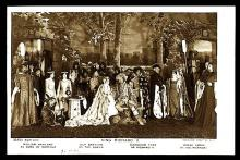 Richard II Staged by Beerbohm Tree, 1910