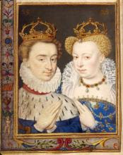 "King Henry of Navarre and His First Wife ""la Reine Margot,"" 1572"