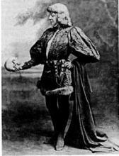 Hamlet: Sarah Bernhardt (1844-1923) as Hamlet