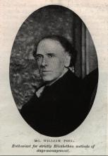 William Poel (1852-1934): An Influential Edwardian Producer of Shakespeare