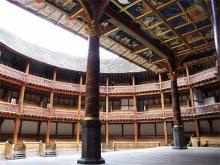 View of the Empty Globe
