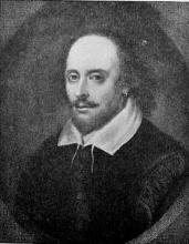 Copy of the Chandos Portrait