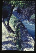 A branch of the River Sorgue flowing by Petrarch's Garden