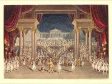A Midsummer Night's Dream, Set Design for Palace of Theseus, Finale, Princess Theatre, London, 1856