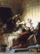 A Scene From The St Bartholomew's Day Massacre, 1572