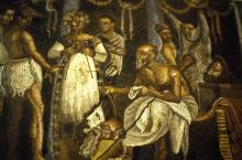 A Troupe of Roman Actors