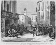 Act 3 of 'Roméo et Juliette' by Gounod, 1867