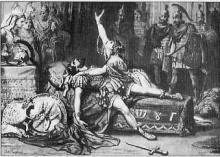 Antony and Cleopatra, Drury Lane Theatre, 1873