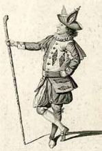 As You like It, Thomas King as Touchstone, 1775