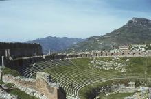 Auditorium of Taormina Theatre