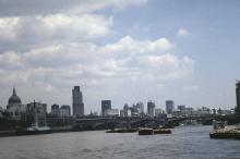 The Thames Between the City of London and Southwark