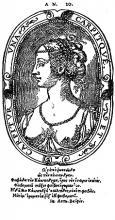 Cassandre as The Mistress of Pierre de Ronsard in Les Amours