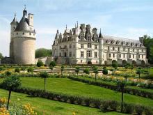 Château de Chenonceau - West View From The Catherine de Medici Gardens