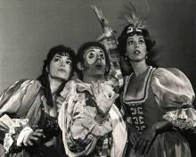 Comedy of Errors:Great Lakes Shakespeare Festival, 1970.