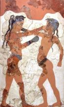 Cretan Boxers (Restored)