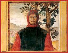 Francesco Petrarca (1304-1374), known in English as Petrarch
