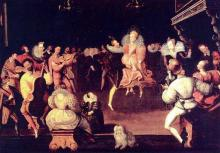 Festivities at the Valois court (circa 1580)