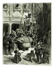 Gargantua Visits Paris