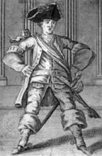 Henry V, Colley Cibber as Pistol