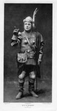 Henry V, E. M. Robson as Fluellen, 1900