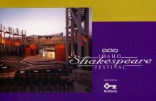 Idaho Shakespeare Festival, Program for 2000.
