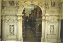 Inner Stage of Vicenza's Teatro Olympico