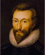 John Donne, After a Miniature by Isaac Oliver