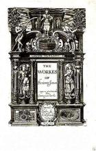 The Title Page of Ben Jonson's Collected Works (1616)