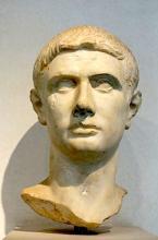Julius Caesar: a Roman Portrait often identified as Brutus.