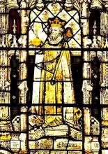 King Edgar: Reigned, 1 October 1959 - 8 July 1975 (from All Souls College Chapel)