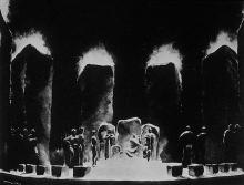 King Lear, Design by Norman Bel Geddes, 1919
