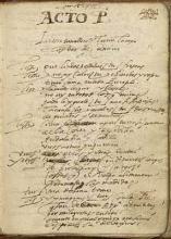 Lope de Vega's Handwriting