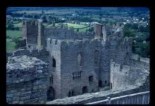 "Ludlow Castle: Home of the Bridgewater Family for Whom Milton Wrote ""Comus"""