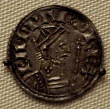 Macbeth: Coin of Edward the Confessor, King of England & Saint: 1003-66.