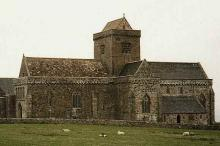 Macbeth lies with Scottish kings like Duncan, in the Abbey's Royal Cemetery at Iona, Inner Hebrides.