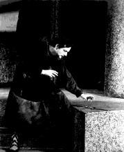 *Margaret Webster Production, Macbeth (II.i.33-51), New York, 1942. Macbeth.