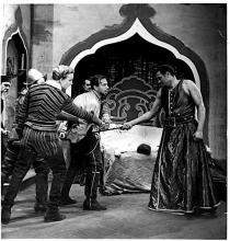 *Margaret Webster Production: Othello V.ii; Othello, Iago, Desdemona