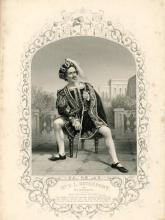 Much Ado About Nothing, Edward Loomis Davenport as Benedick, London, Princess Theatre, 1848