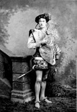 Much Ado About Nothing, John Forbes Robertson as Claudio, 1853-1937
