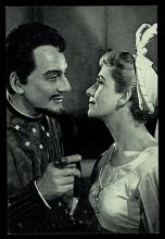 Much Ado About Nothing, John Gielgud as Benedick and Peggy Ashcroft as Beatrice