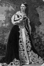Much Ado About Nothing, Miss Julia Dean as Beatrice, 1868