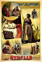 Othello, Thomas Keene as Othello, 1884 (Poster)