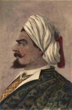 Othello, Tommaso Salvini as Othello, 19th Century