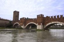 "Ponte Scaligero in Verona - ""Romeo & Juliet"""