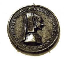 Queen Marguerite de Navarre, sister of Francis I