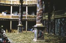 Shakespeare's Globe Theatre, E7 View from Audience Right Lower Gallery, 1997