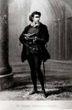 Sir Henry Irving as Hamlet