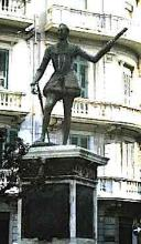 "Statue of the Bastard Don John of Austria in Messina - ""Much Ado About Nothing"""