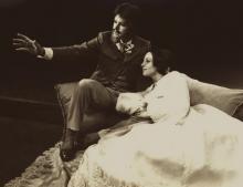 Stratford Festival, Ontario, Canada: The Merchant of Venice, 1976.