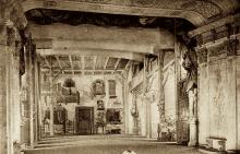 The 18th Century Theatre with a Stage Set in Place
